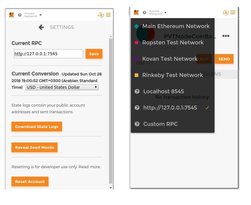 Using Ganache Ethereum Emulator with MetaMask – Blockchain